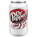 Diet Dr Pepper Soda Cans